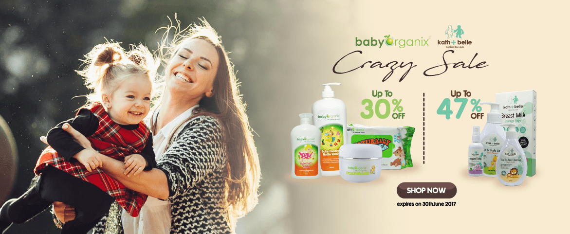 Baby Organix  & Kath Belle Promotion