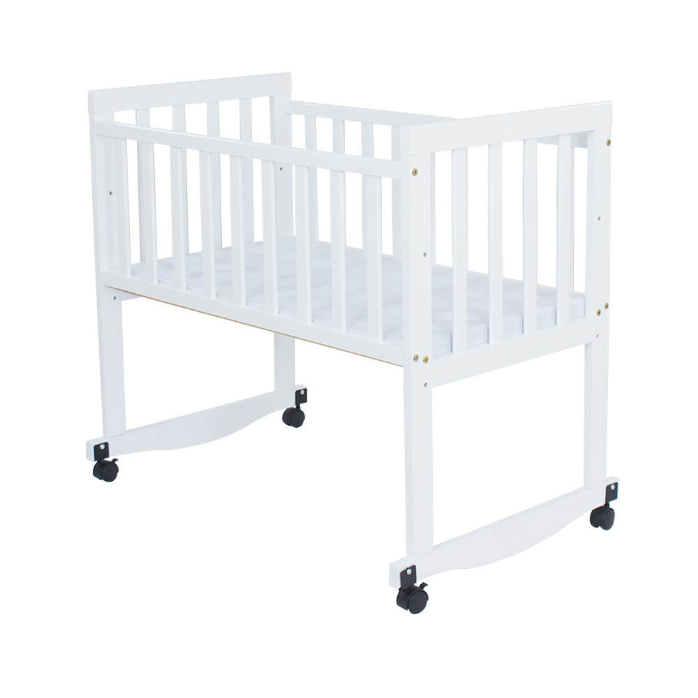 Baby bed online malaysia - Royalcot Baby Cradle 11 White