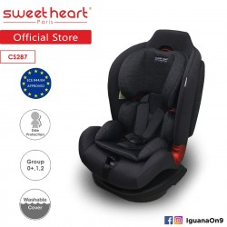 'Sweet Heart Paris CS287Car Seat (Black Grey) with Shock Absorption'