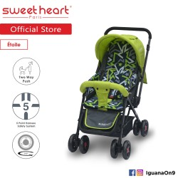 Sweet Heart Paris ST220 Etoile Stroller with 8pcs Wheels