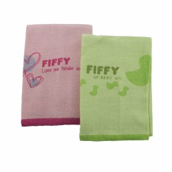 FIFFY Baby Bath Towel ( 2pcs Value Pack) - 19467870