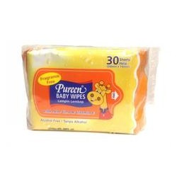 Pureen Baby Wipes 30 sheets (Twin Packs)