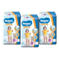 Huggies Dry Pants Super Jumbo XL44 (3 Packs)