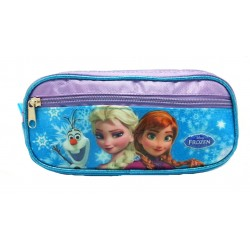 Disney Frozen Sparkling Blue Square Pencil Bag