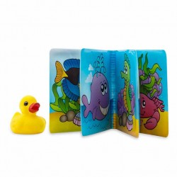 Cheekaaboo Bath Book / Sea Pals + Ducky