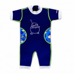 Cheekaaboo Warmiebabes Suit-Navy Blue / Stingray