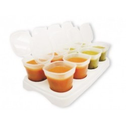 Treenie Breast Milk & Baby Food Freezer Cubes