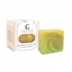 AG Touche Botanical Handmade Hypoallergenic Soap Bar 80g (Lemongrass)