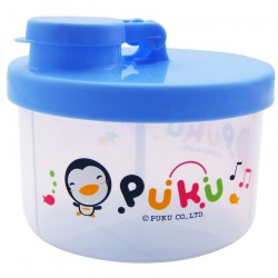 PUKU Baby Milk Powder Container Dispenser 100ml / Layer Blue P11011-799