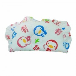 PUKU 100% Cotton Hollow Pillow SP91124 BLUE Holiday Design