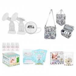 Autumnz ESSENTIAL Double Electric Breastpump Package