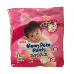 MamyPoko Pants Extra Soft (Girl) - L
