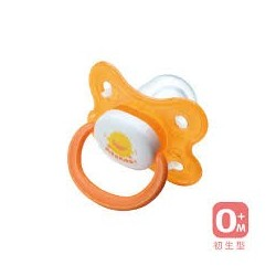 Piyo Piyo Thumb Shape Pacifier (Orange)