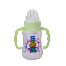 Japlo Streamlined Sl140Ml Feeding Bottle Green (Without Handle)- Hanging Card