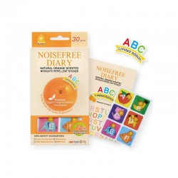 Simba Natural Orange Mosquito Repellent Sticker- ABC (30 Pieces)