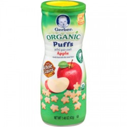Gerber Organic Puffs Apple