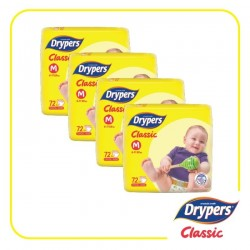 Drypers Classic Open M72 (4 Packs)