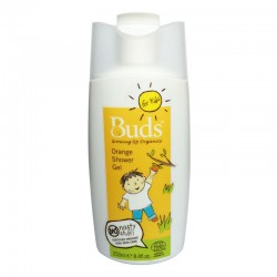 Buds for Kids Shower Gel (250ml) - Orange