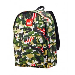 ab New Zealand US Camo Kids Canvas Backpack