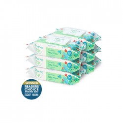 Offspring Baby Wipes 80ct 6-Pack Bundle