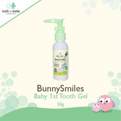 Kath + Belle Bunny Smiles Baby 1st Tooth Gel (Strawberry)'