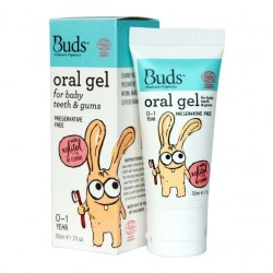 Buds Oralcare Organics Oral Gel for Baby Teeth and Gums