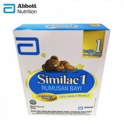 Abbott Similac 1 Rumusan Bayi Advance Formula Milk (0-6month) 600g