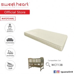 Sweet Heart Paris 5˝ Thickness Foam Mattress For SHP Wooden Cot WCT138  and  WCT118