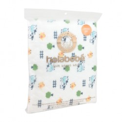 Holabebe Baby Diaper Mat Waterproof - Cute Moo (Size 105 x 70cm)