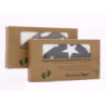 Akarana Baby Organic Bamboo Hooded Towel 2 sets Combo (Cloud & Star)