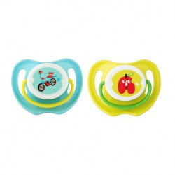 Pigeon Calming Soother, 2pcs-Boy, S - 15749