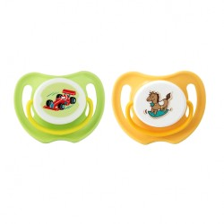 Pigeon Calming Soother, 2pcs-Boy, M - 15750