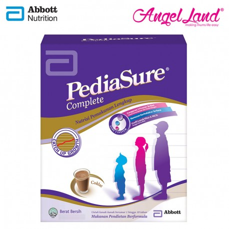 Abbott Pediasure Complete S3S Chocolate (1-10 Yrs) BIB 600g