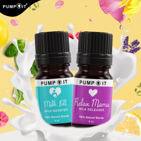 Pump It Optimum Milkbooster Package (Milk Full + Relax Mama)