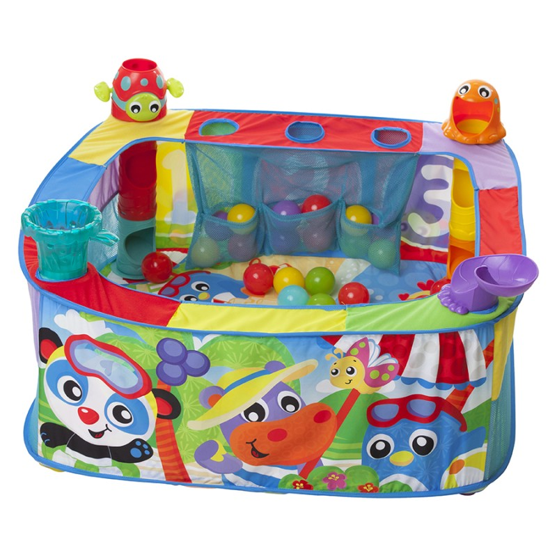 Playgro Large Activity Floorplay Pop And Drop Activity