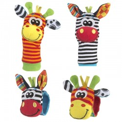 Playgro Jungle Wrist Rattle and Foot Finder