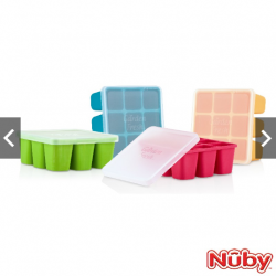 "Nuby ""Garden Fresh"" Fresh Food Freezer Tray"