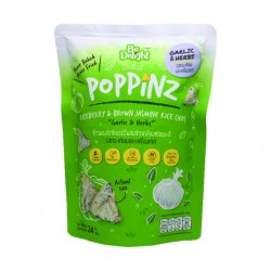 Be Delight Poppinz Rice Chips (Garlic & Herbs)