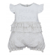 BABY STYLE ASIA BABY GIRLS PETITE ROSE HALF ROMPER