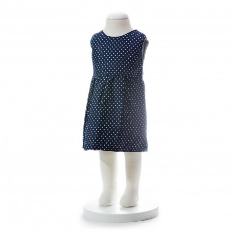 BABY STYLE ASIA Baby Girls Summer Style Ribbon Dot Dress