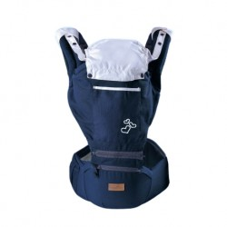 Babylove Kangoo Hip Seat + Carrier (Navy Blue)