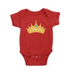 Babywears.my Prince Addname in Crown T-Shirt  Personalizable Designs