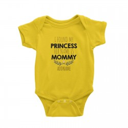 Babywears.my I Found My Princess Her Name is Mommy Addname T-Shirt Personalizable Designs