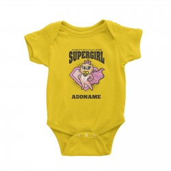 Babywears.my Best Daughter Supergirl Baby T-Shirt Personalizable Designs Matching Family Superhero Family Edition Superhero
