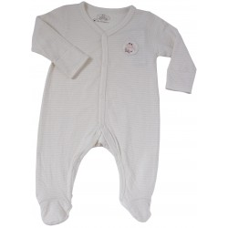 Bebeganic Baby Long Sleeve Romper Set 3