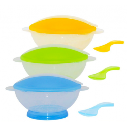 BabeSteps Portable Baby Training Bowl Feeding Set - BS001