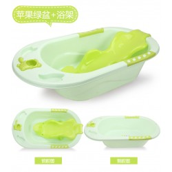 BabeSteps Bath Tub + Lay Back Seat (Green)