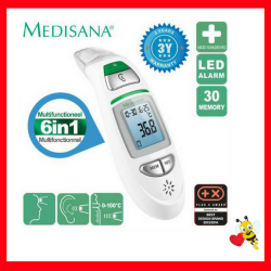 Medisana TM 750 6 in 1 Infrared Multifunctional Thermometer (3 yrs Warranty)