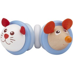 Wonder World Blue Cat Rattle