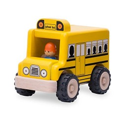 Wonder World Mini School Bus